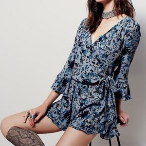 [Free People] All The Right Ruffles Romper